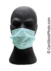 chirurgische maske, schnuller