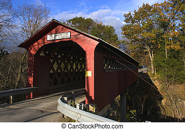 Chiselville Bridge, near Arlington, Vermont