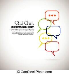 chit conversam