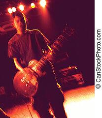 chitarra, atmosfera
