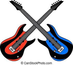 chitarra, due
