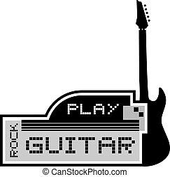 chitarra, gioco