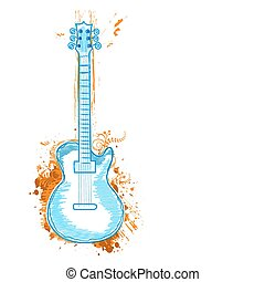 chitarra, icona