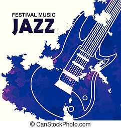 chitarra, internazionale, musica jazz, elettrico