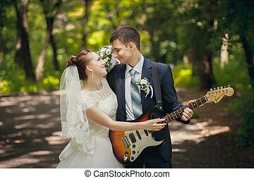 chitarra, matrimonio