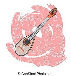 chitarra, music-03, roccia