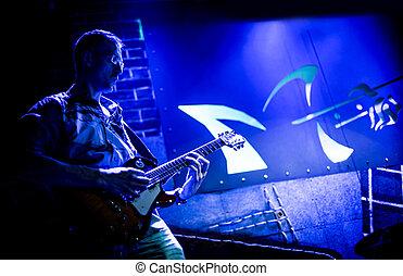 chitarra, musicista, giochi