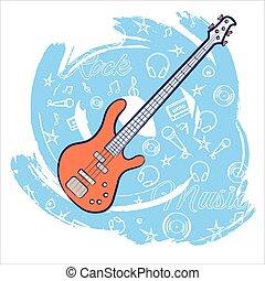 chitarra, roccia, music-01