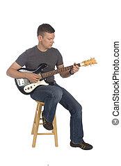 chitarrista, gioco