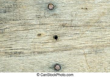chiudere, legno, fondo, su, struttura