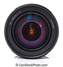 chiudere, lens., macchina fotografica, su, foto