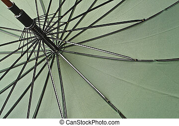 chiudere, ombrello, su, classico