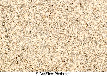 chiudere, sabbia, industriale, su, bianco