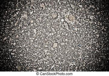 chiudere, struttura, fondo, su, asfalto