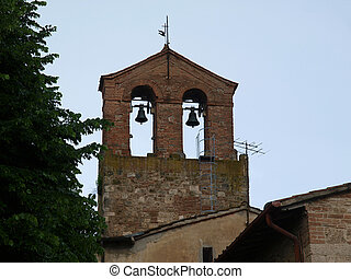 Chiusi - one of the most ancient Etruscan towns in Tuscany, Italy