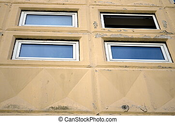 chiuso, palestra, finestra, aperto, piccolo