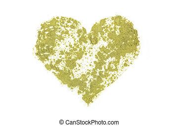 Chlorella, spirulina and wheat grass. - Chlorella, spirulina...