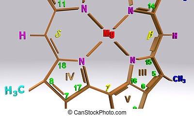 Chlorophyll_c structure_closeup - Chlorophyll c is unusual...