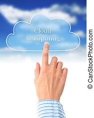 chmura, computing.