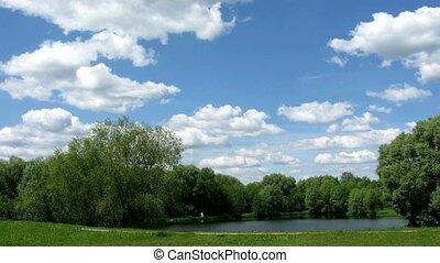 chmura, krajobraz