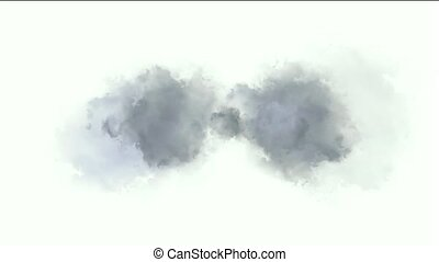 chmura, lightning., &