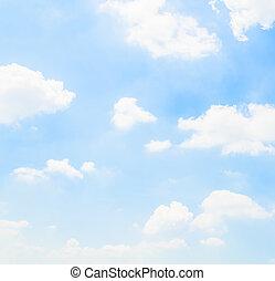 chmura nieba