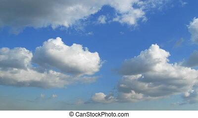chmury, seamless, pętla