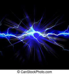 chocar-se, electricidade
