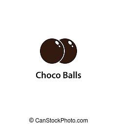 choco, balles