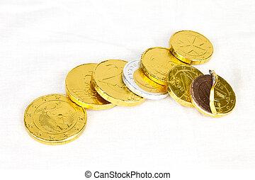 chocola geld