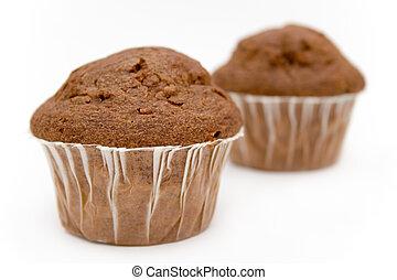 chocolade, muffins