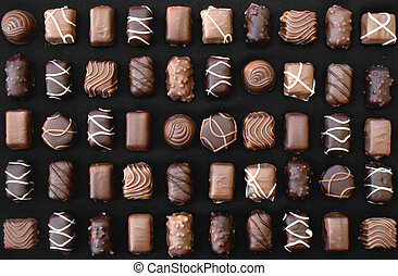 chocolade, zoetigheden