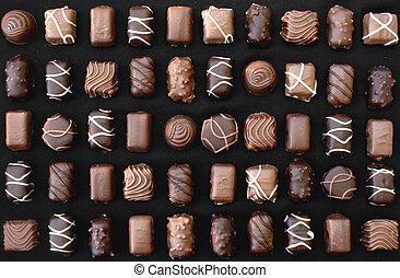 chocolat, bonbons