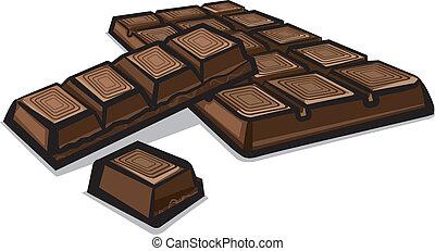 Illustrations et cliparts de chocolat tablette 299 dessins et illustrations vecteurs eps de - Dessin tablette chocolat ...