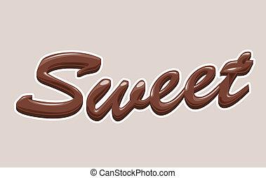 chocolat, doux