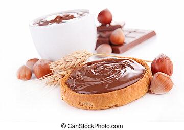 chocolat, pain, diffusion