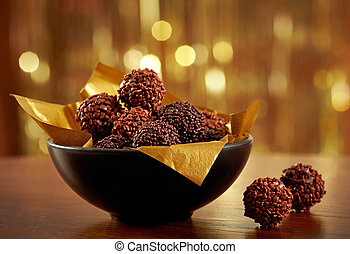 chocolat, truffes