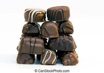 Chocolate and bonbon