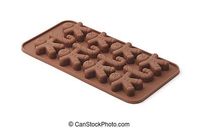 Chocolate and candy silicone mold