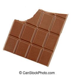 chocolate bar candy sweet food - close up chocolate bar on...