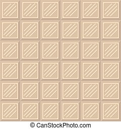 Chocolate bar seamless pattern.