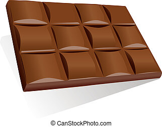 chocolate baron white background