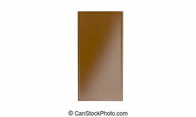 Chocolate bars - White, brown and dark chocolate bars