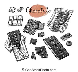 Chocolate big set.