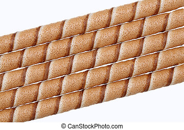 chocolate biscuit stick straw