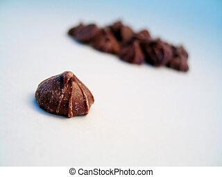 Chocolate bud, isol