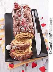 chocolate cake for christmas