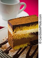 chocolate cake mousse