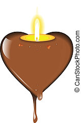 CHOCOLATE CANDLE