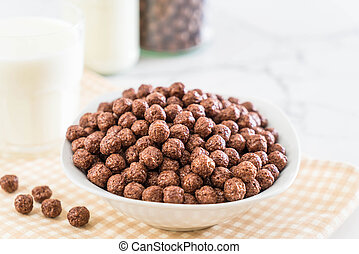 chocolate cereal bowl